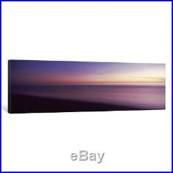 ICanvas Ocean at sunset, Los Angeles County, California, USA by Panoramic Images