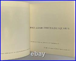 JOSEPH ALBERS White Line Squares Los Angeles County Museum of Art, 1966