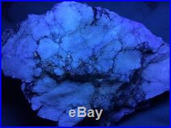 Kb Sw Fl. Howlite From Tick Canyon, Los Angeles County, California