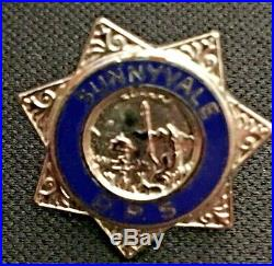 LASD LA CO Deputy Sheriff Los Angeles County Sheriff's Pin Santa Clara Sunnyvale