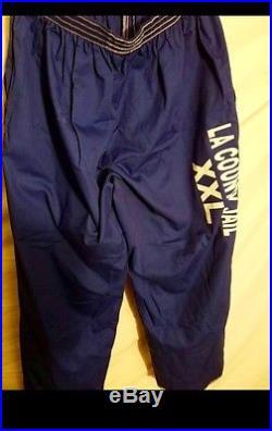 LA Los Angeles County Jail Blues shirt and pants