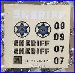 Los Angeles County Sheriff Swat Ford Thunderbird 1/24 Otaki Japan Police