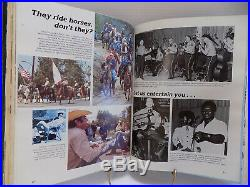 LOS ANGELES COUNTY SHERIFF'S DEPT YEARBOOK 1850-1981 POLICE Bonded Leather 368pp