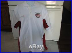 Lifeguard Los Angeles LA County fire dept. Official uniform polo shirt large