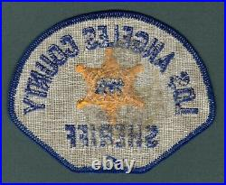 Los Angeles County California Sheriff Police Patch