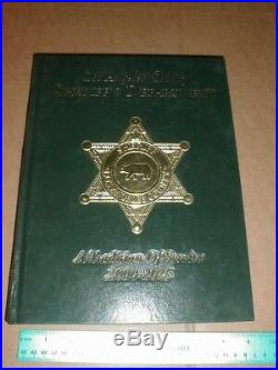 Los Angeles County California Sheriff's Department book 2000-2005 CA