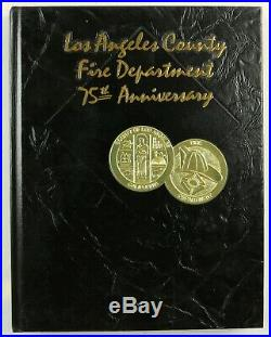 Los Angeles County Fire Department California 1998 Firefighter History Year Book