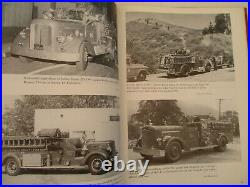 Los Angeles County Fire Department Fire Wagon Truck Forester Author Signed 1996