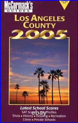 Los Angeles County (McCormack's Guides Los Angeles) By Don McCormack
