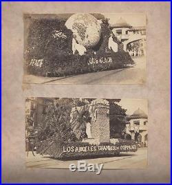 Los Angeles County Photo Album Shipbuilding, Rose Parade 1918-1919