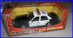 Los Angeles County Sheriff Police Car Motorworks 1/18 Diecast New In Box