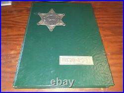 Los Angeles County Sheriff's Department 1850-1981 ILLUSTRATED HISTORY FOLIO