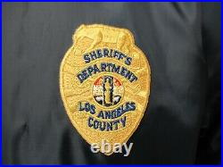 Los Angeles County Sheriff's Department Volunteer Jacket Men's Small Perfect