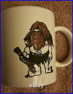 Los Angeles County Sheriffs Dept. East L. A. Station Caveman Coffee Mug RARE