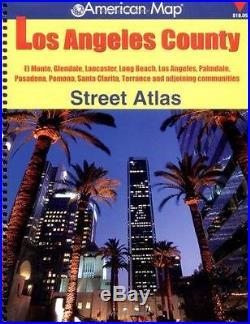 Los Angeles County Street Atlas by Creative Sales Corporation/American Map