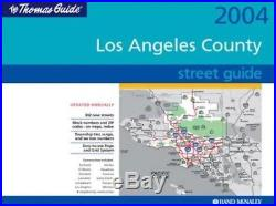 Los Angeles County, Street Guide Thomas Guide Los Angele. By Thomas Bros Maps