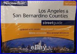 Los Angeles and San Bernardino Counties Thomas Guide Street Atlas 3rd Edition