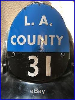 Los angeles County Fire Helmet MSA