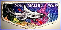 MALIBU OA LODGE 566 WESTERN LOS ANGELES COUNTY CA SHARK pre-fdl FF S1 FIRST FLAP