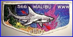 Malibu Oa Lodge 566 Western Los Angeles County Council Ca Shark Ff S1 First Flap