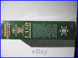 MIB NRFB BBI Military LASD Los Angeles County Officer Burns 16 Scale 12 Figure