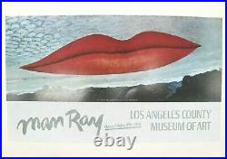 Man Ray Lithograph Los Angeles County Museum Of Art 1966 First Edition 1978