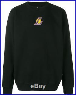 NEW Marcelo Burlon County of Milan Men NBA Los Angeles Lakers Sweatshirt Size M