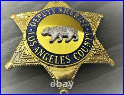 Oä/ Collector police badge, Deputy Sheriff, Los Angel. County, Kalifornien