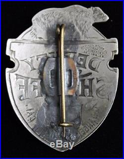 Obsolete Los Angeles County Deputy Sheriff Badge withTraditional Maker's Mark