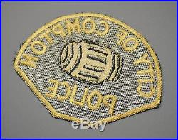 Old Style Compton California Police Patch ++ Mint Los Angeles County CA HTF