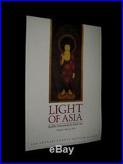 Original 1984 LOS ANGELES COUNTY MUSEUM OF ART Amitabh Buddha 14 Cent Korean Art