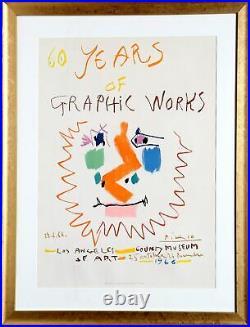 Pablo Picasso, 60 Anni Di Grafica Fabbrica Los Angeles County Museo, Litografia