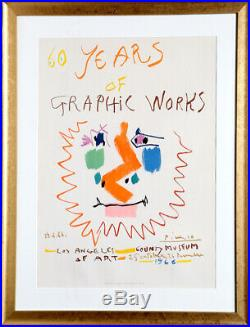 Pablo Picasso, 60 Years of Graphic Works Los Angeles County Museum, Lithograph