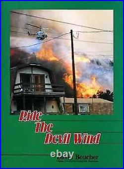 RIDE DEVIL WIND A HISTORY OF LOS ANGELES COUNTY FORESTER By David Boucher VG+