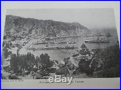 Rare 1st Ed. 1923 LOS ANGELES COUNTY History Genealogy 3 Volume Set Photographs