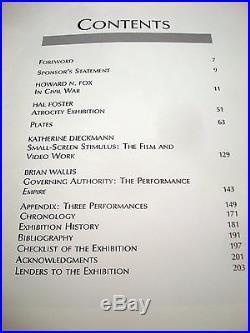 Robert Longo Los Angeles County Museum of Art Vtg 1980s Exhibition Catalog 1989