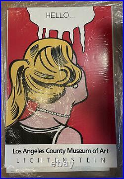 Roy Lichtenstein Exhibition Poster Hello Los Angeles County museum of ART