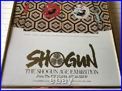 Shogun The Shogun Age Exhibition Los Angeles County Museum of Art Poster