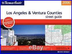 THOMAS GUIDE 2006 LOS ANGELES/VENTURA COUNTIES, CALIFORNIA Excellent Condition