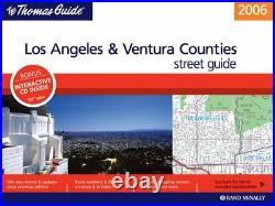 THOMAS GUIDE 2006 LOS ANGELES/VENTURA COUNTIES, CALIFORNIA Mint Condition