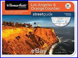 THOMAS GUIDE LOS ANGELES & ORANGE COUNTIES  THOMAS GUIDE By Rand Mcnally NEW