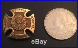 The Los Angeles County Hospital General School of Nursing 10K Gold Pin 1952
