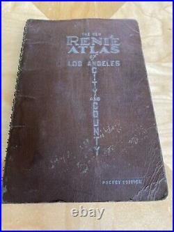 The New Renie Atlas of Los Angeles City and County 1942 First Edition