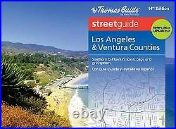 The Thomas Guide Streetguide, Los Angeles & Ventura Counties by Rand McNally