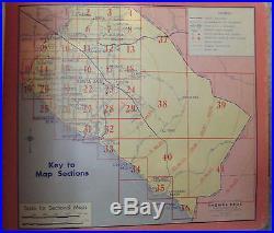 Thomas Bros. 1958 Popular Atlas Los Angeles & Orange County