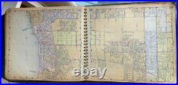 Thomas Bros Atlas Of Los Angeles County 1955 George Coupland Thomas McMillan