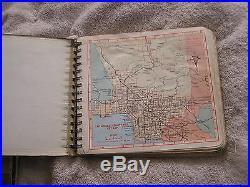 Thomas Brothers Maps Los Angeles Orange County 1967