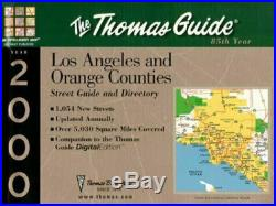 Thomas Guide 2000 Los Angeles and Orange Counties Street Guide and Directory