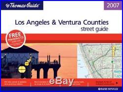 Thomas Guide 2007 Los Angeles And Ventura County, California Brand New