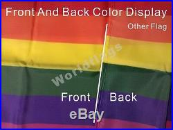 US California Flag 3X5FT Governor Bear Lone Star JP Gillis Orange Los Angeles